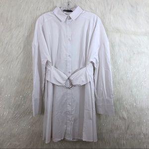 Jeuvre shirt dress size medium